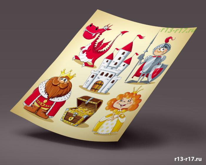 Развивающий магнит сказка на холодильник для ребенка заказать интернет магазин